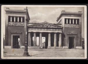 AK München Propyläen Königsplatz 1925 (12244