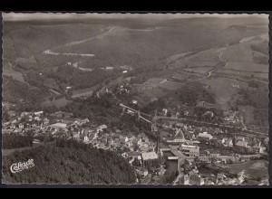 AK Cekade Luftbild Gemünde Eifel 1955 (12248