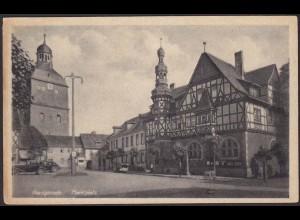 AK Harzgerode Marktplatz Harz (12272