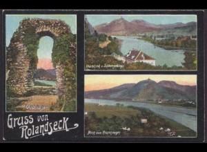 AK Rolandseck Siebengebirge Rolandsbogen (8427
