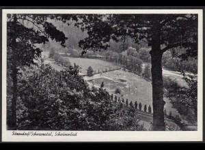 AK Sitzendorf Schwarzatal Schwimmbad (12275
