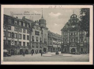 AK Innungshalle Ratskeller Rathaus Gotha (12283