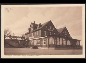 AK Grosser Jnselberg Hotel Gotha (12285