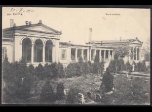 AK Gotha Krematorium 1911 (12287