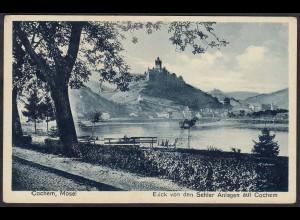 AK Cochem Mosel Sehler Anlagen auf Cochem (12288
