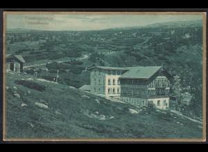 AK Riesengebirge Elbfallbaude Wasselfall Fachwerk 1926 (12295