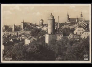 AK Bautzen mit Wasserturm Stadtansicht (12298