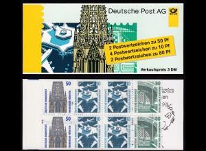 Bund BRD Markenheftchen 29b Germany Booklet MNH ** (16300