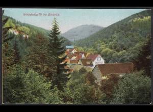 AK Wendefurth im Bodetal (12316