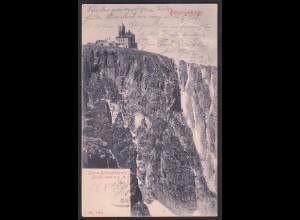 AK Riesengebirge Schneegrubenbaude 1905 Schlesien (12369