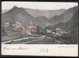 AK Gruss aus Altenahr Gesamtansicht 1901 (12387