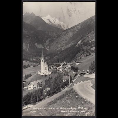 AK Heiligenblut Grossglockner Neue Glocknerstrasse (12394