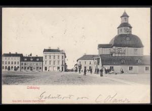 AK Lidköping Västra Götalands län Schweden nach Lage 1901 (12396