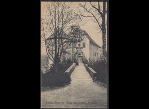 AK Fränk Schweiz Burg Rabenstein Eingang (12437