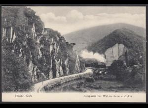 AK Bunte Kuh Felspartie Walporzheim a. d. Ahr Eisenbahn (12444