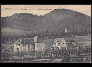 AK Striegau Georgen Kreuzberg Präparandenanstalt Schlesien (12454