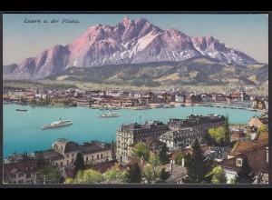 AK Luzern und der Pilatus Gesamtansicht (12461