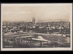AK Echt Foto Regensburg Kirche Gesamtansicht (12466