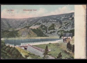 AK Lac Noir (Vogesen) Schwarzer See Urbeis 1909 (12467
