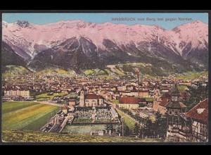 AK Innsbruck vom Berg Isel gegen Norden Gesamtansicht (12478