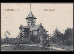 AK Reichenbach im Bogtland Gasthaus 1917 (12493