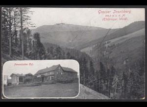 AK Großer Inselsberg Thrüringer Wald Preussischer Hof (12494