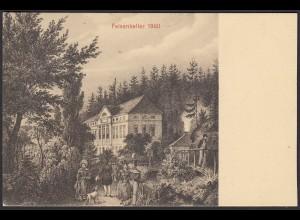 AK Felsenkeller 1860 Sachsen (12519