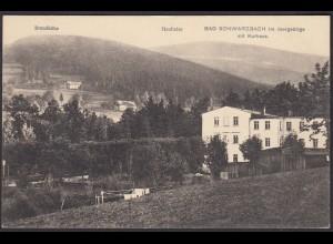AK Brandhöhe Heufuder Bad Schwarzbach Schlesien (12561