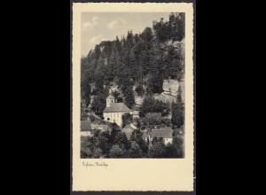 AK Oybin Berg Kirche (12565