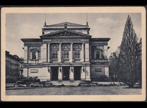 AK Gewandhaus Leipzig Res severa verum gaudium (12584