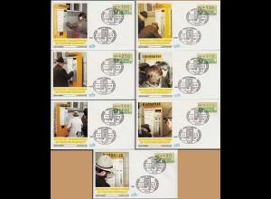 ATM-BRD Ersttag 1.7.1982 Randsbach-Baumbach 7 Briefe Michel 70 € (15659