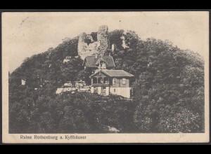 AK Ruine Rothenburg a. Kyffhäuser (12594