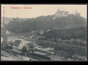 AK Schloss Rochsburg im Muldentale 1909 (12596