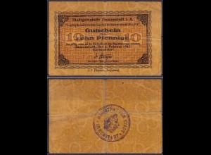 Bayern - Immenstadt 10 Pfennig Notgeld 1917 Magistrat-Stempel (ca915