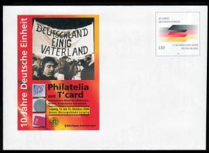 BRD BUNDESREPUBLIK Bund Sonder-Ganzsachen 10 J. Einheit 110 Pfg. 2000 (14472