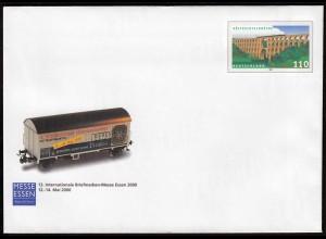 BRD BUNDESREPUBLIK Bund Sonder-Ganzsachen Eisenbahn 110 Pfg. 2000 (14473