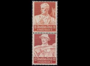 Deutsches Reich DR Stände Zusammendruck S227 ** postfr. (14479