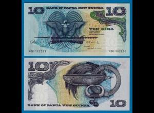 PAPUA NEUGUINEA - NEW GUINEA 10 Kina (1985) UNC Pick 7 (18127