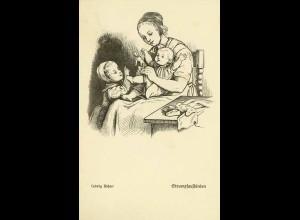AK Ludwig Richter Kinderleben 1.Sammlung Strumpf (0111