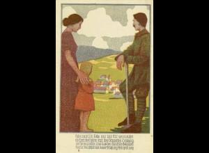 AK Kunst Reichsbund Krieg Beschädigten Teinehmer (0181