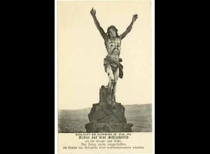 AK Elsass Frankreich France Statue Schlacht bei Sarreburg (1058