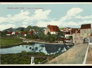 AK Grafenwöhr Oberpfalz Feldpost 1. WK 1917 (1835