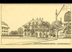 AK Evangelisches Gemeindehaus Neuhausen Zeichnung (1804