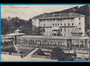 AK Wildbad- Trinkhalle Calw 1912 (1750