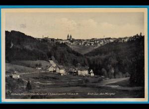 AK Kurort Freundenstadt Schwarzwald Gesamtansicht (1754