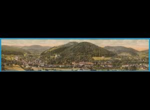 AK 3-fach Faltkarte Lichtenthal Baden-Baden 1918 (1768