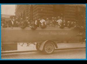 AK Münchener-Fremden - Bus-Rundfahrt München 1928 (1770