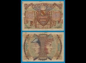 Baden Mannheim 10000 10.000 Mark Banknote 1923 (18466
