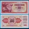 Jugoslawien / Yugoslavia 100 Dinara 1965 UNC Pick 80b (18291