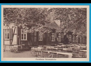 AK Forsthaus Heisenküche Hameln Gasthaus 1927 (2363